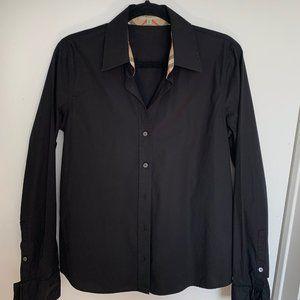 BURBERRY Brit classic black shirt